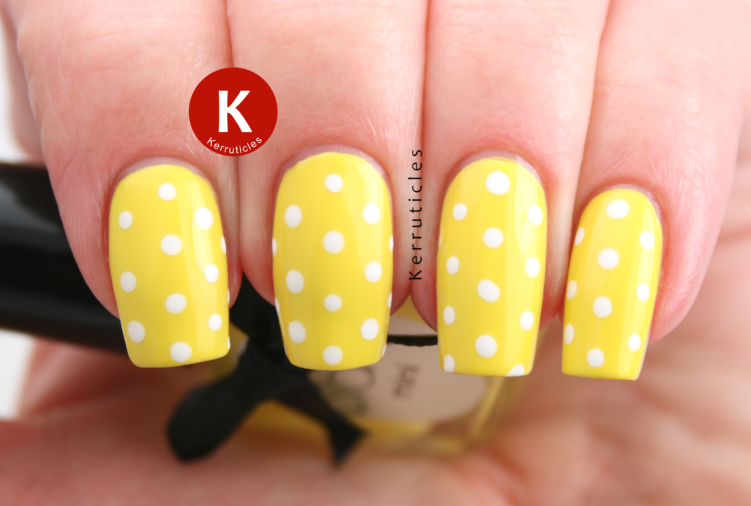 Ciate Big Yellow Taxi polka dots