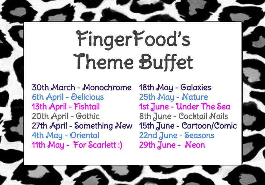 Finger Foods Theme Buffet 2
