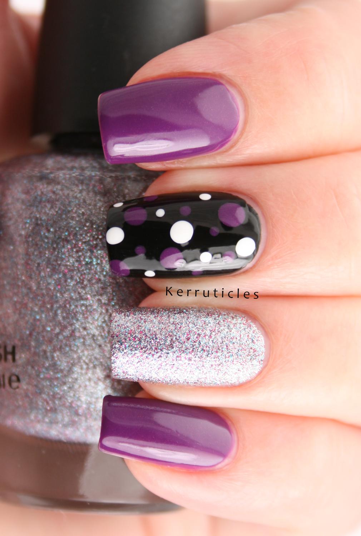 Purple Silver And Black Skittlette Random Untried Never Ending Pile Challenge