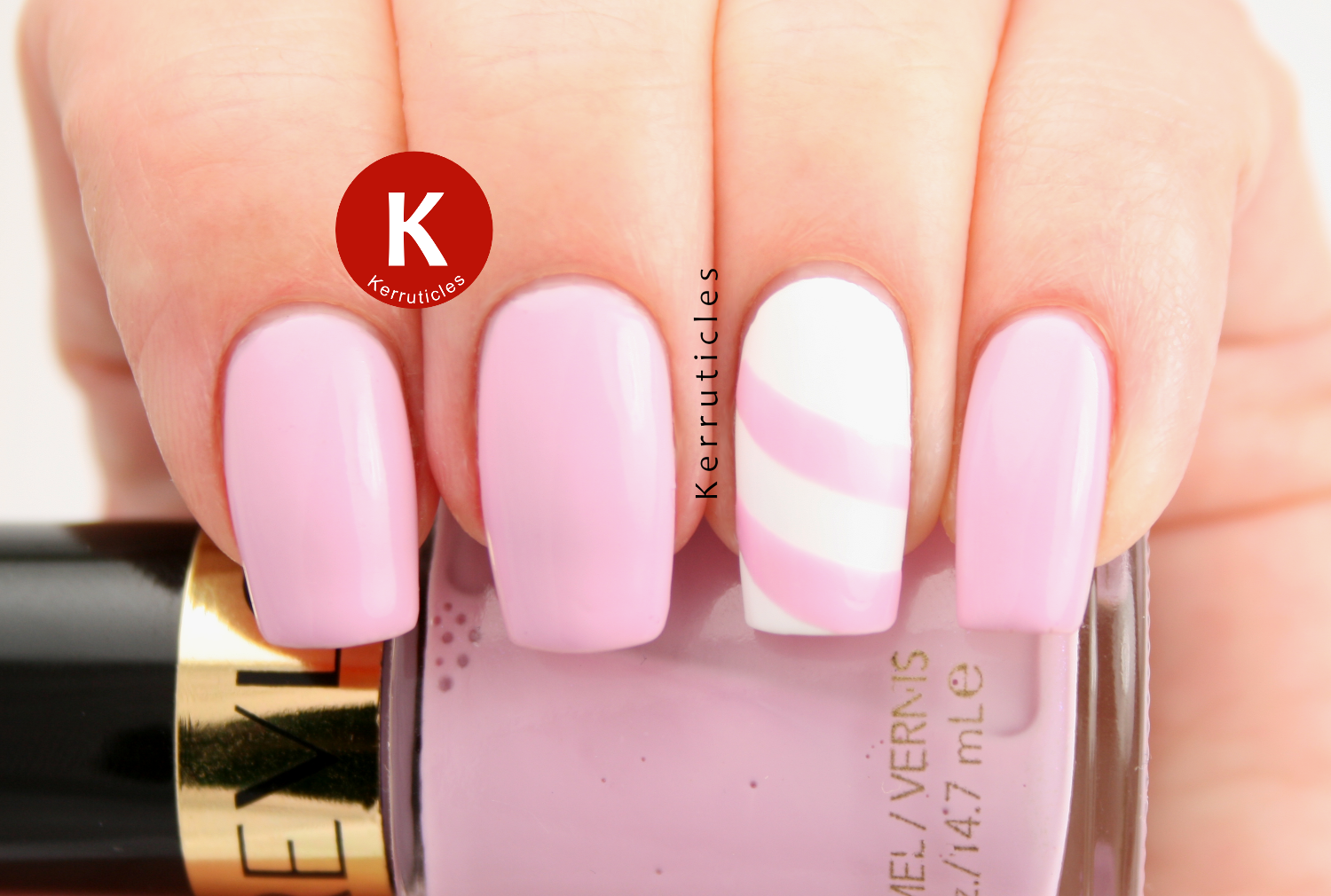 Revlon Lilac Pastelle with lined accent