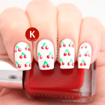 Cherries nails delicious prompt