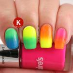 Neon rainbow gradient