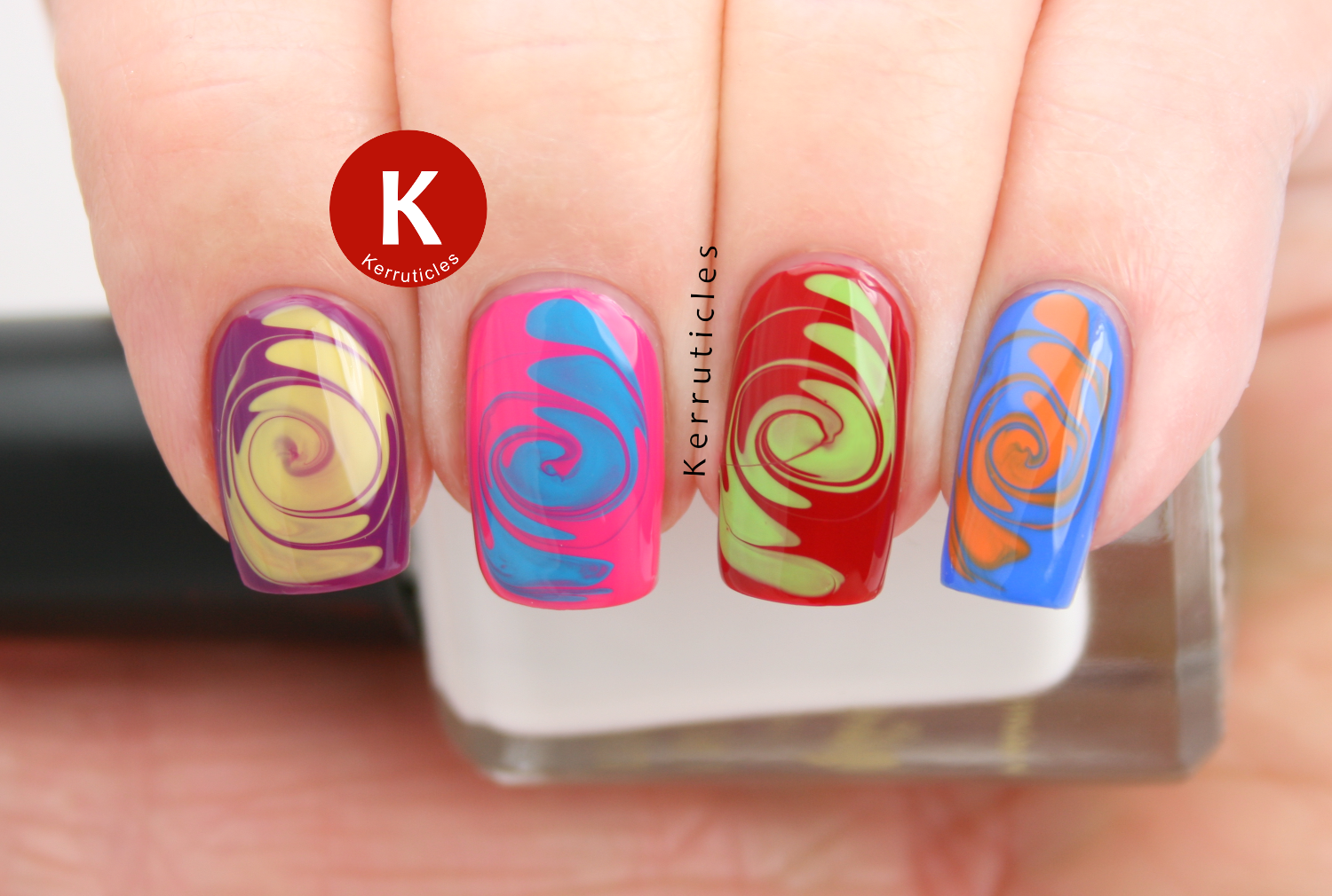 60s psychedelic swirls skittle