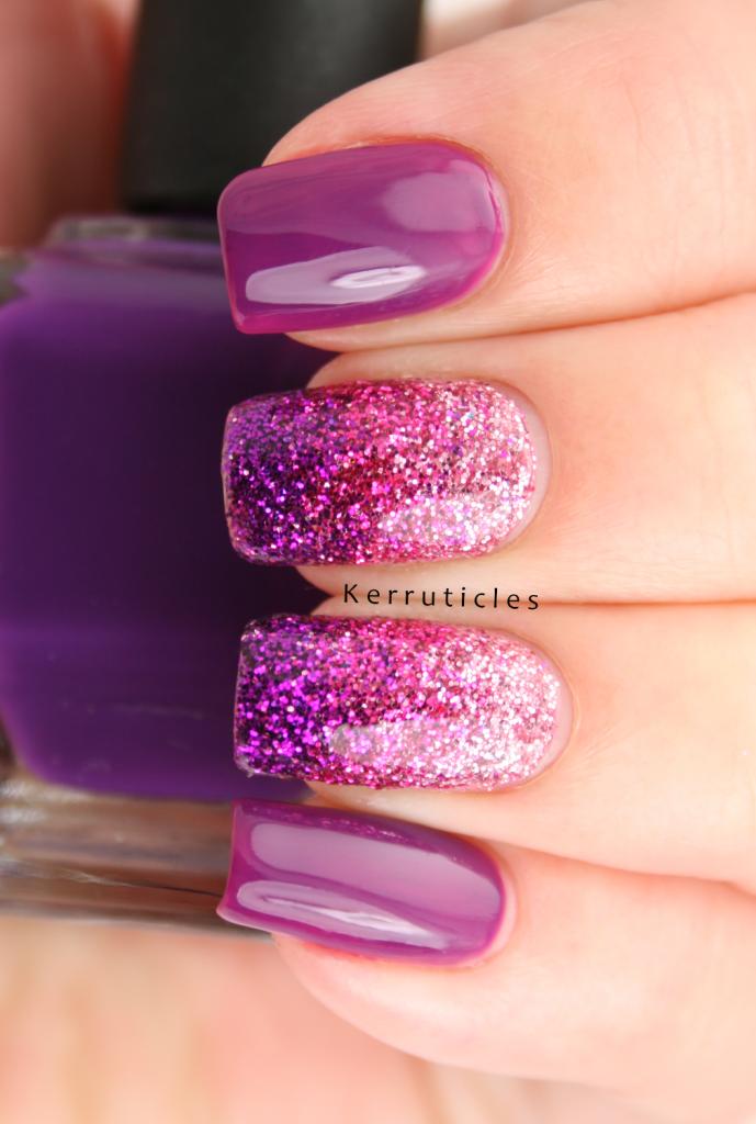 Three Colour Loose Glitter Gradient   Kerruticles