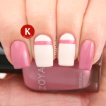 Zoya Zanna pink cream stripe IG