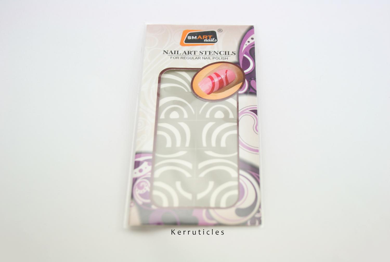 smART nails stencils P053