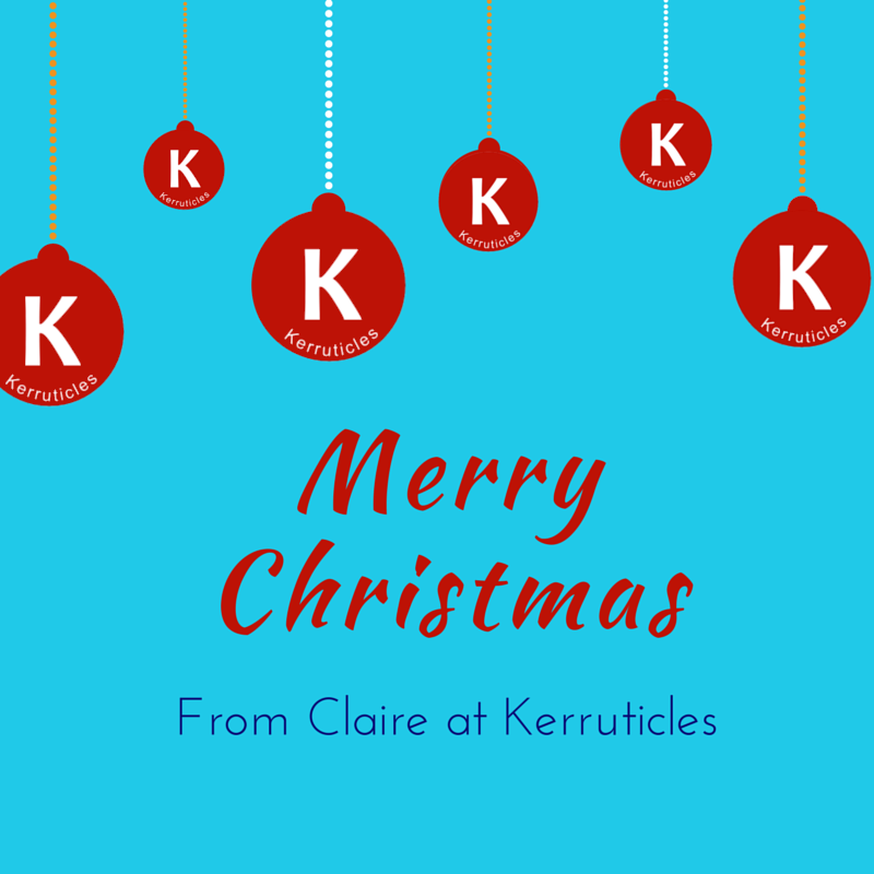 Merry Christmas 2014 from Claire at Keruticles