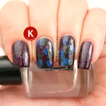 Splodged dark scattered holos