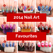 Kerruticles 2014 Nail Art Favourites