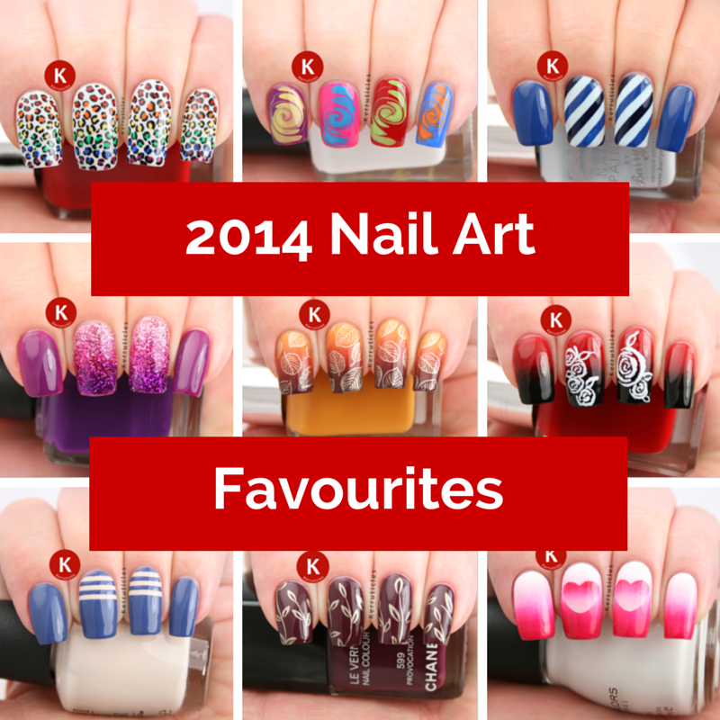 My 24 Favourite Nail Art Manicures Of 2014 Kerruticles