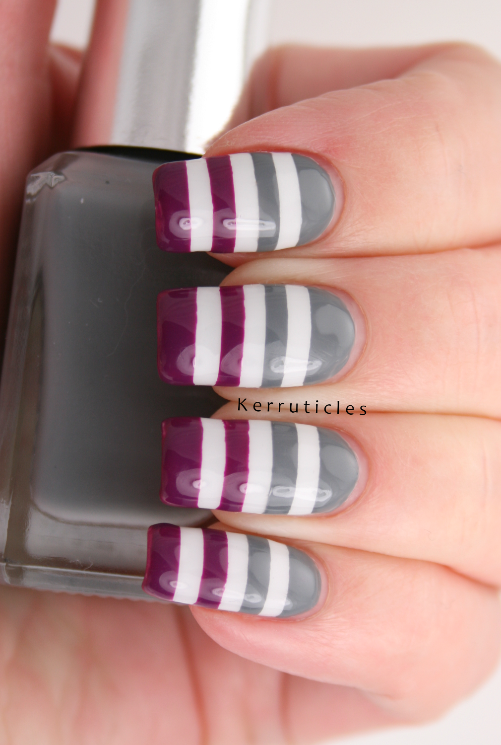Purple and Grey: L is for: Lines | Kerruticles