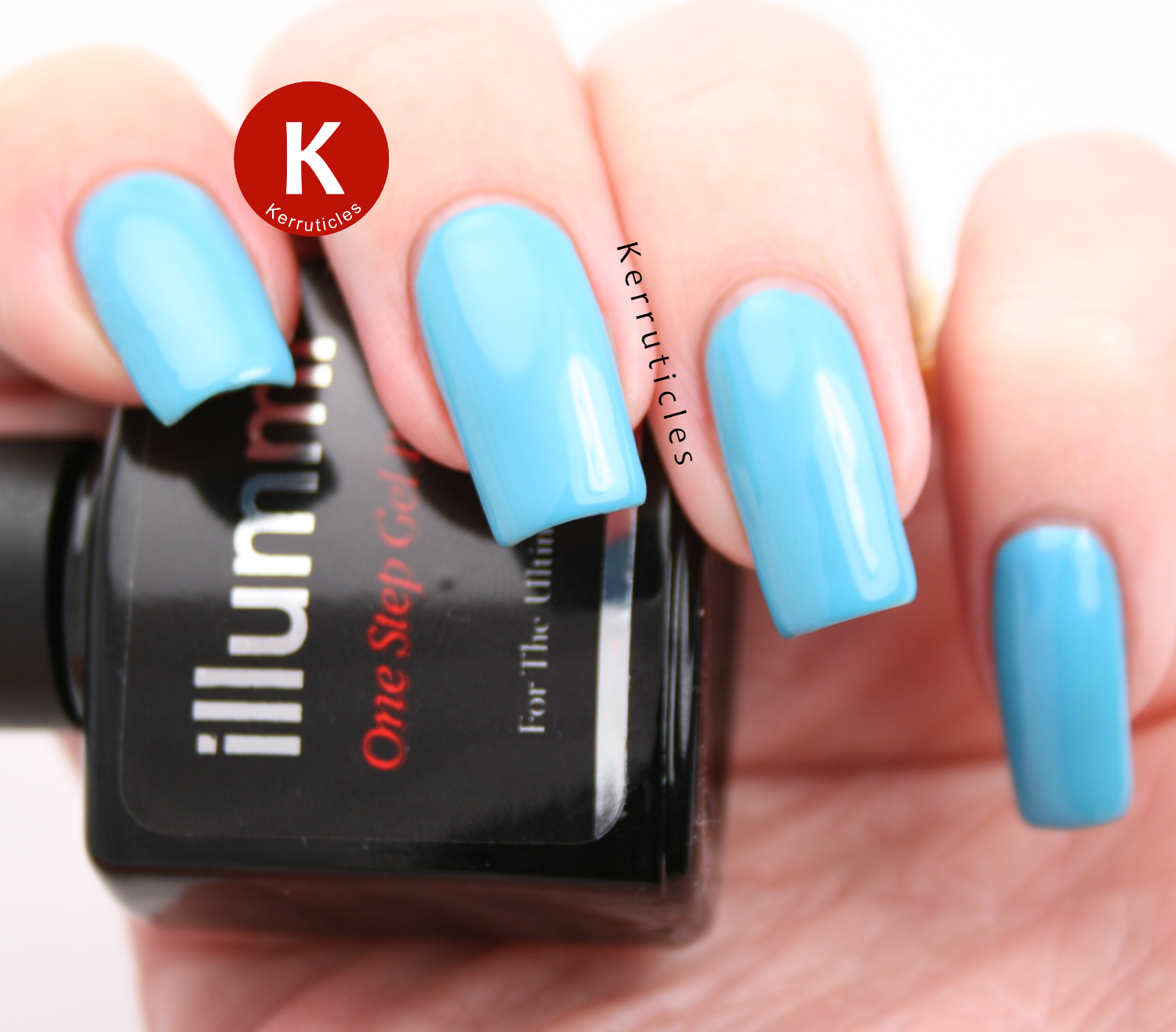 Illummi Blue Lagoon gel polish