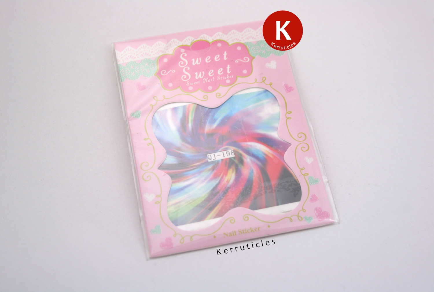 BPS multi-coloured swirl pattern water decals, sheet 198