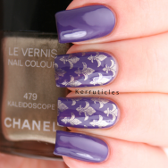 Christian Louboutin Lova Stamped with Chanel Kaleidoscope