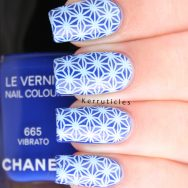 Chanel Vibrato stamped with BM Around The World BM-XL155