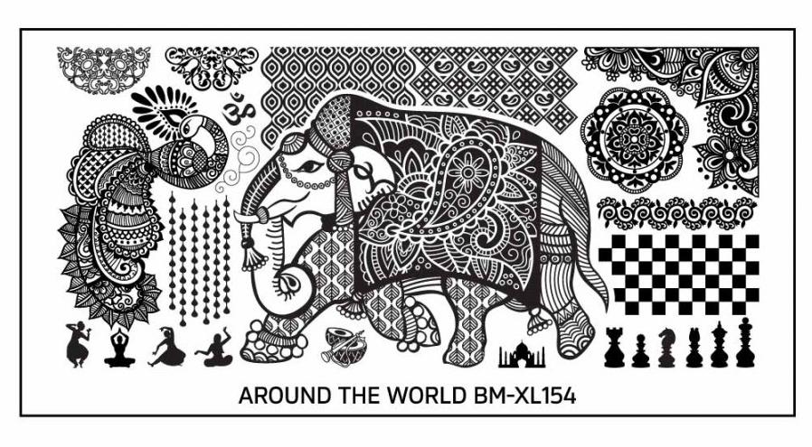 BM-XL154 Paisley Delhite