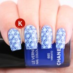 Chanel Vibrato with geometric stamping