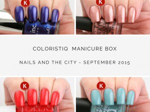 Coloristiq Manicure Box September 2015