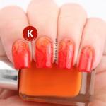 Orange and red gradient swirls