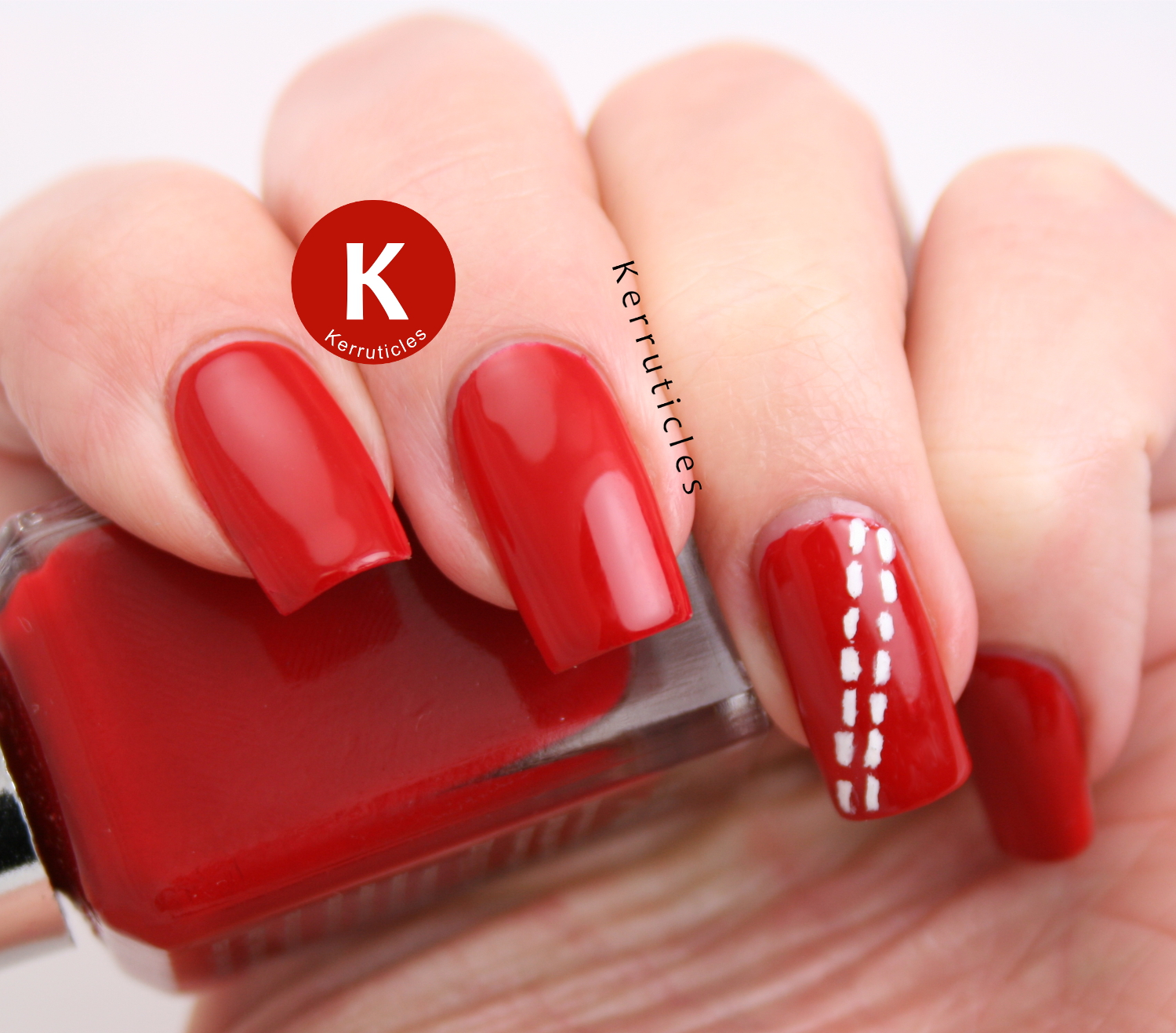 Cricket Ball Nails | Inspired By Your Child | Twinsie Tuesday ...