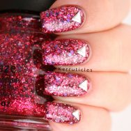 China Glaze Ugly Sweater Party with triangular studs