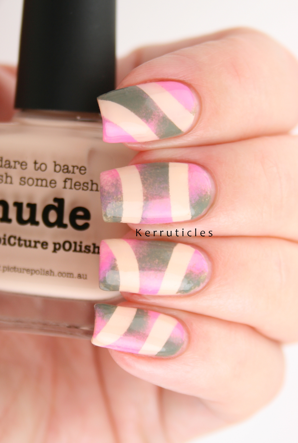 Picture Polish FEST 2015: Abstract Nail Art | Kerruticles