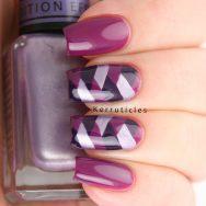 Purple fishbraid