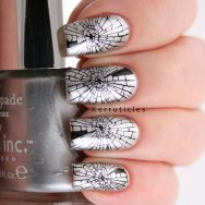 Shattered glass stamping
