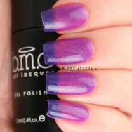 Bundle Monster Night Fall thermal colour-changing gel polish