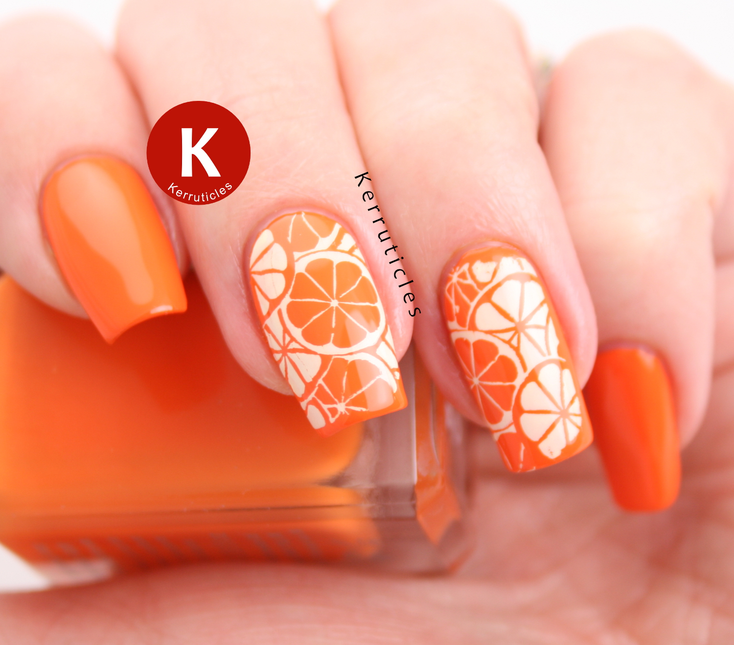 Citrus nails: are they oranges or lemons?