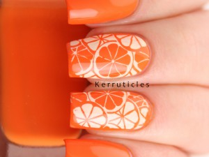 Citrus nails oranges lemons nails