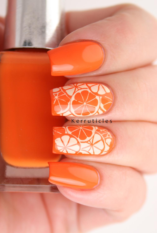 Citrus Nails Oranges Or Lemons Kerruticles