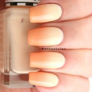 Yellow and orange pastel gradient
