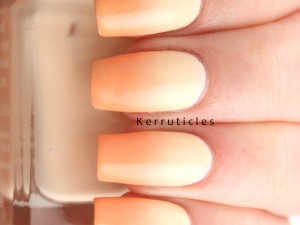 Yellow and orange pastel gradient