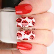 Ladybird nails