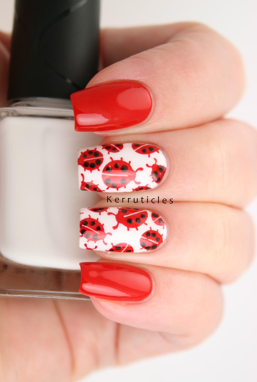 Ladybird Nails 40 Great Nail Art Ideas Kerruticles