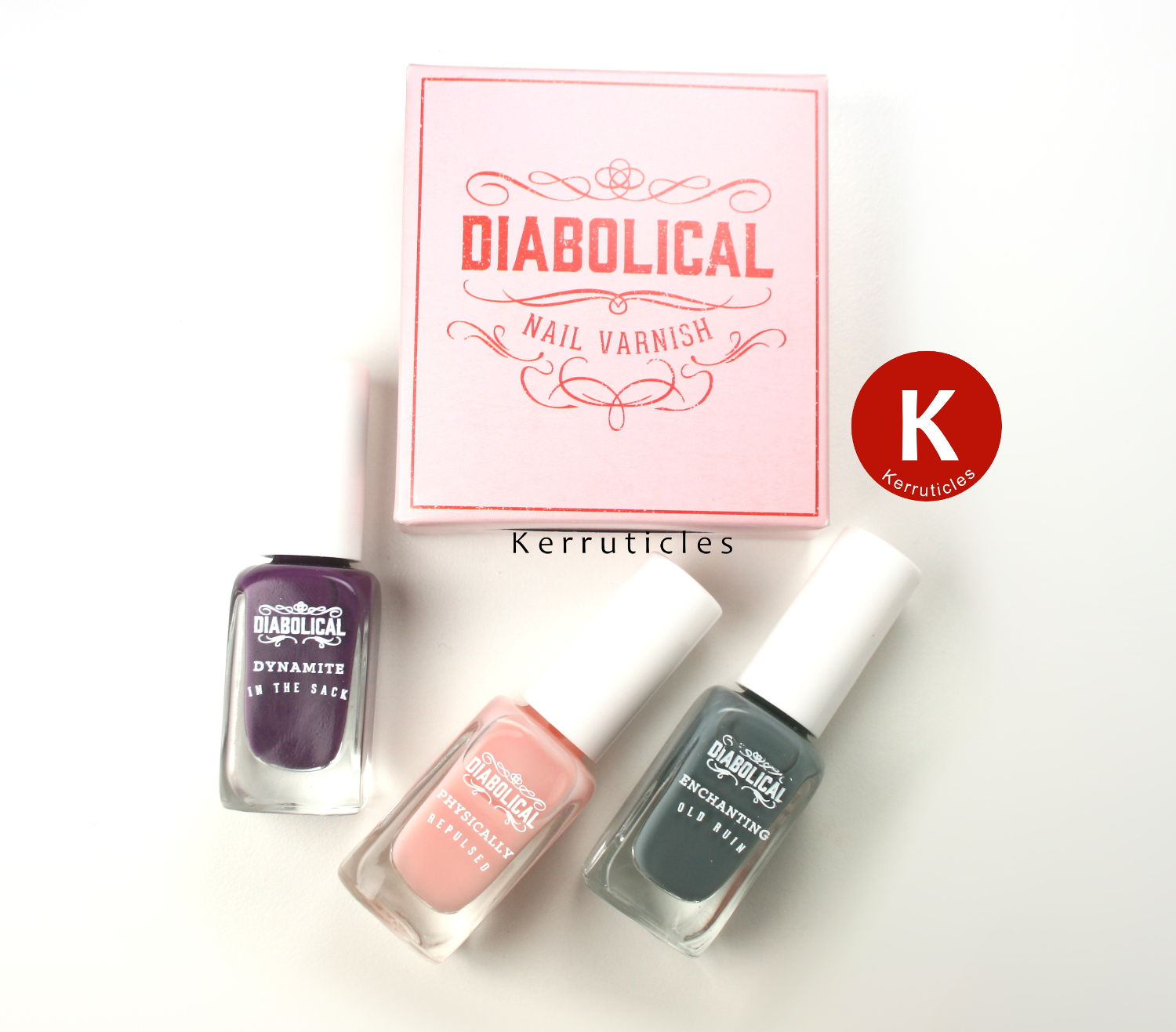 Diabolical Nail Varnish set from Firebox