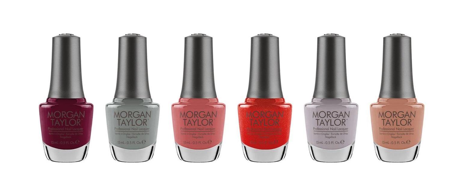 Morgan Taylor Sweetheart Squadron Collection for Autumn 2016