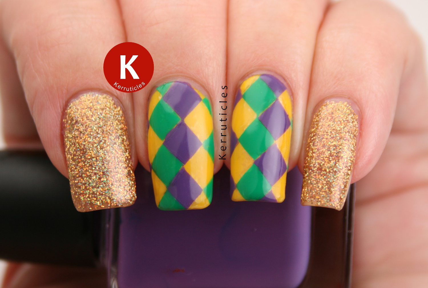 Freehand nail art Archives | Kerruticles