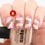 Nude, khaki and pink - for Picture Polish Fest 2015