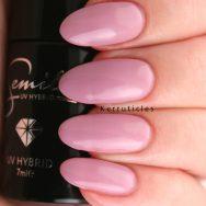 Semilac Nude Beige Rose gel polish