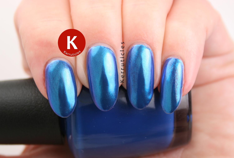 SensatioNail Blue Chrome Powder | Kerruticles