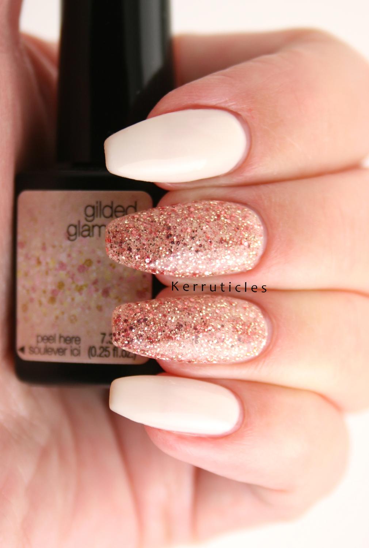 SensatioNail Gilded Glamour | Glitter Gel Polish with Cream ...